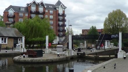 brentford gauging lock no 100 gazetteer canalplanac