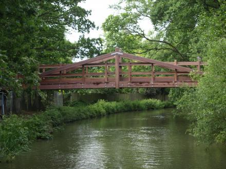 Deedmans Footbridge (Private) — Gazetteer – CanalPlanAC
